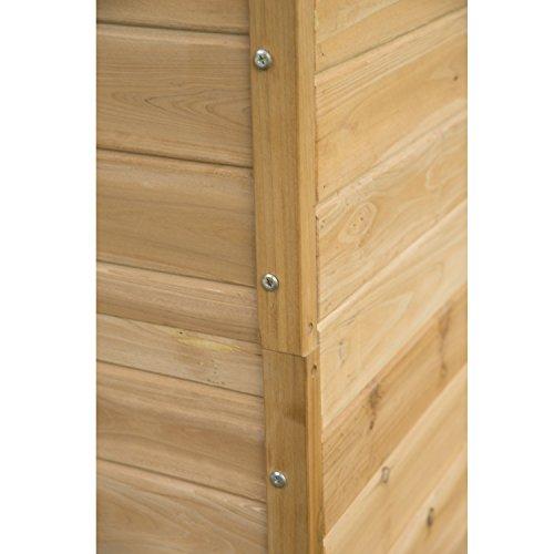 Meuble armoire abri de jardin rangement outils exterieur en bois massif 54 jardin boutique - Rangement buches exterieur ...