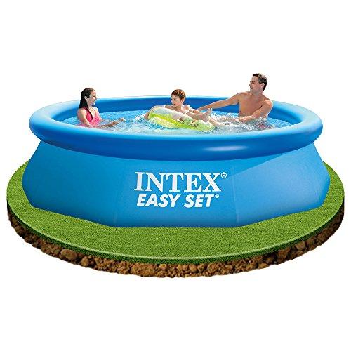Intex 56922fr piscine kit piscinette easy set 3 05 x for Accessoires piscine 25