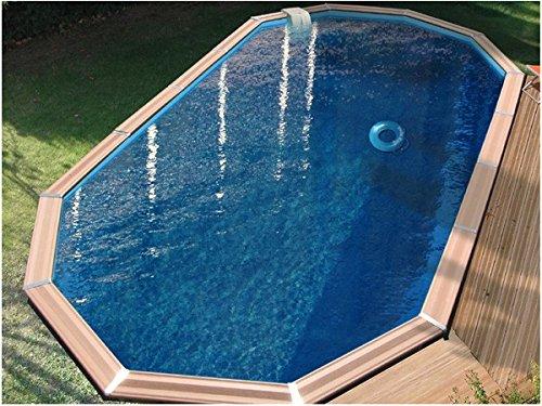 Piscine bois waterclip myconos 955x477x147 cm hors sol for Piscine hors sol bois water clip