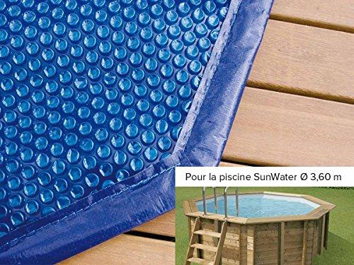 B che bulles pour piscine bois sunwater 3 60 x 1 20 m for Liner piscine 3 60 1 20