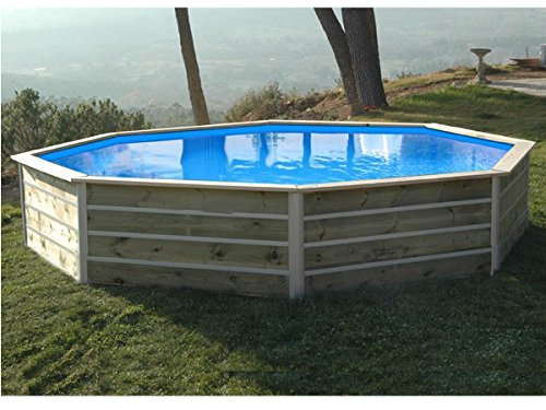 Water 39 clip 20122 piscine octogonale en bois 4 60 x 4 for Piscine hors sol water clip
