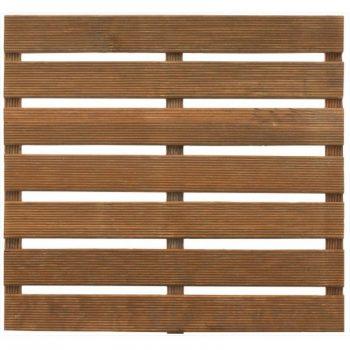 1 Dalle de terrasse en bois teinté First motif droit 50 - BURGER JARDIPOLYS 6.99 ManoMano