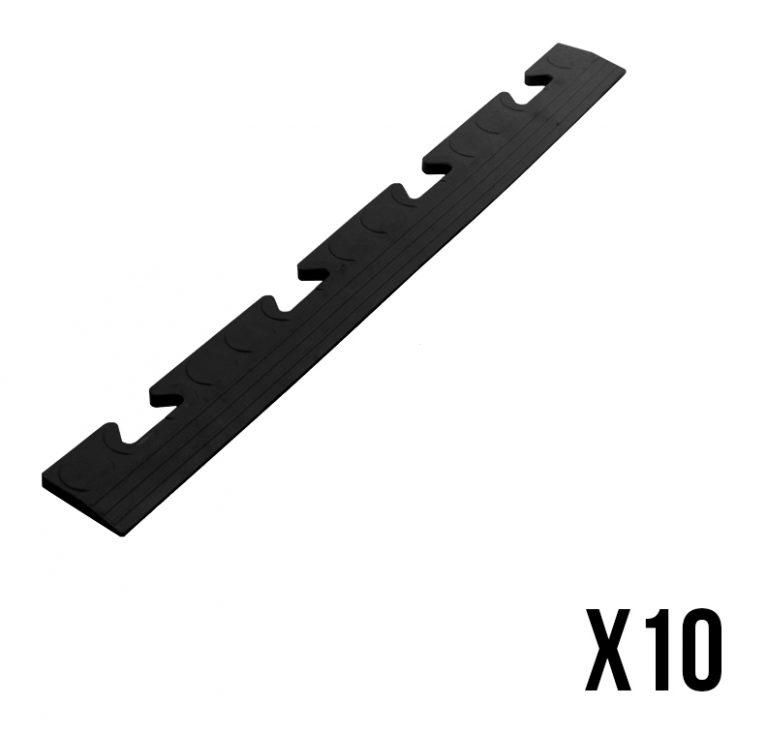 10 pièces Glissière Listone femelle pour carreau noir carrelage PS50CRN/F - AUTRES 24.90 ManoMano