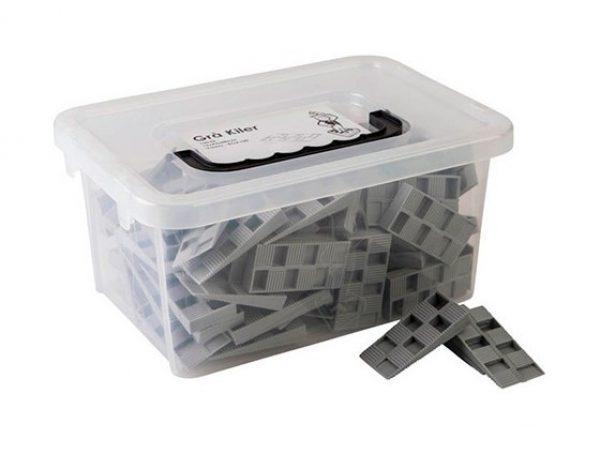 100 cales crantées Grise 15 x 43 x 88 mm BOX100 - Harpun - 10697 29.90 ManoMano