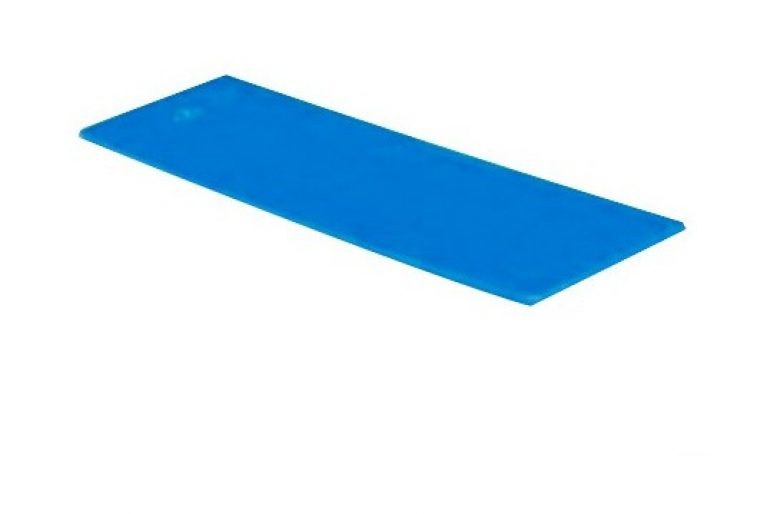 1000 cales plates Bleue 1 x 30 x 100 mm - Harpun - 10247 83.60 ManoMano