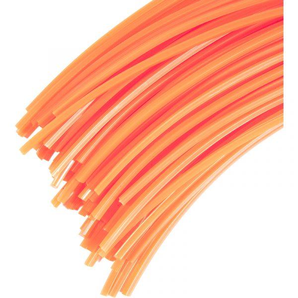 30 brins 3 mm carré 35 cm de fil professionnel pour débroussailleuse - JARDIAFFAIRES 5.45 ManoMano