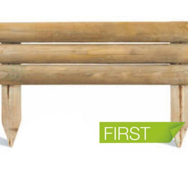 JARDIN ᐅ Bordure de jardin en bois à planter First - BURGER ...