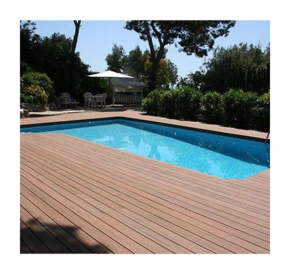Kit Complet 20 M² Terrasse Composite Gris   GREEN OUTSIDE 1539.00 ManoMano