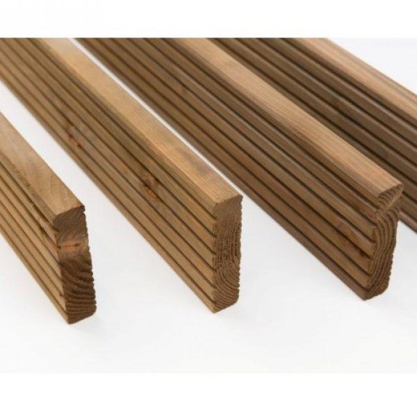 jardin lame de terrasse 28x120x3000mm douglas trait autoclave marron gamme figo sud bois. Black Bedroom Furniture Sets. Home Design Ideas