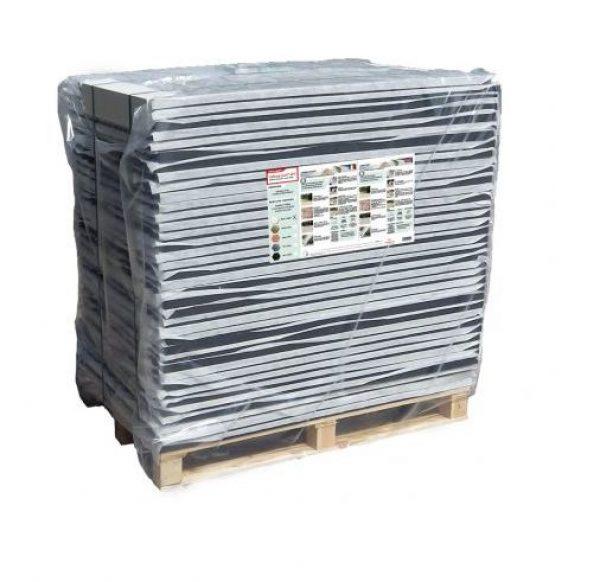 JARDIN ᐅ Palette de 35m² stabilisateur gravier 30 mm Noir ...