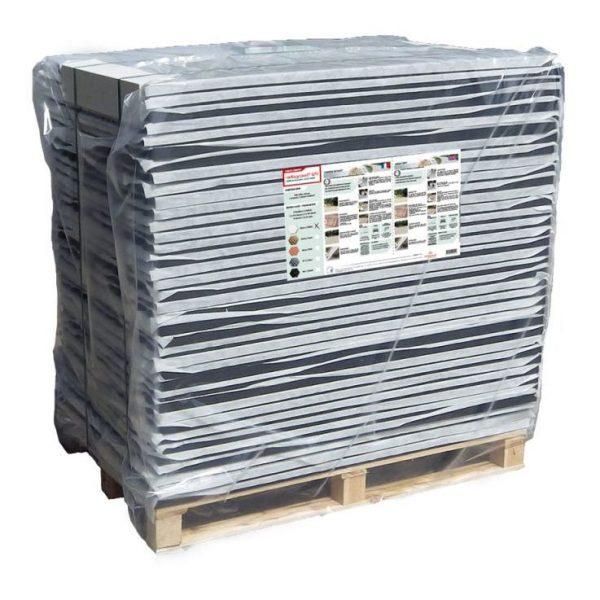 Palette de 71 m² stabilisateur gravier 3 cm nidagravel Noir 74 plaques -  NIDAPLAST