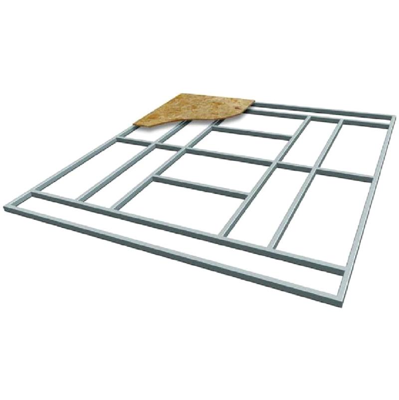Support de plancher base pour abri de jardin s t le for Plancher pour abri de jardin