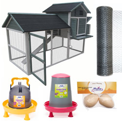 Kit complet poulailler Oofarmer XL OOGarden Poulaillers Basse-cour