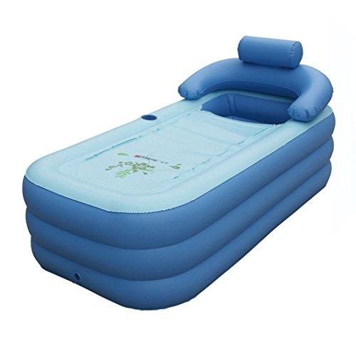 Intime pliable gonflable adultes chauds baignoire enfants for Piscine plastique