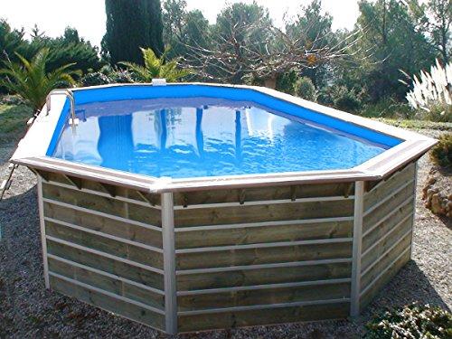 Piscine bois waterclip calayan 890x420x129 cm hors sol for Accessoires piscine x water