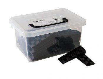 50 cales crantées Noire 25 x 43 x 140 mm BOX50 - Harpun - 10699 27.90 ManoMano