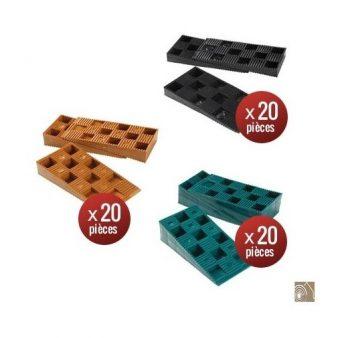 60 Cales crantées de 10 à 30 mm pour Terrasse Bois - SUD BOIS 20.00 ManoMano