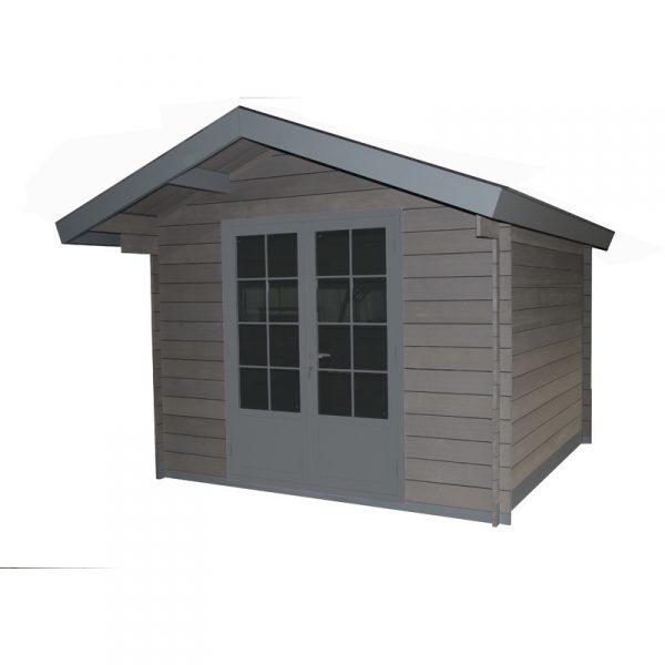jardin abri de jardin composite 3x3 toit tradi 2 pentes. Black Bedroom Furniture Sets. Home Design Ideas