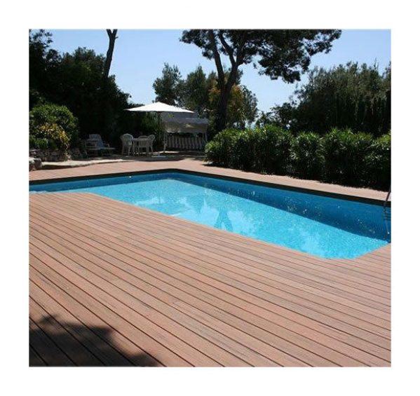 jardin ᐅ kit complet 20 m² terrasse composite gris - green outside